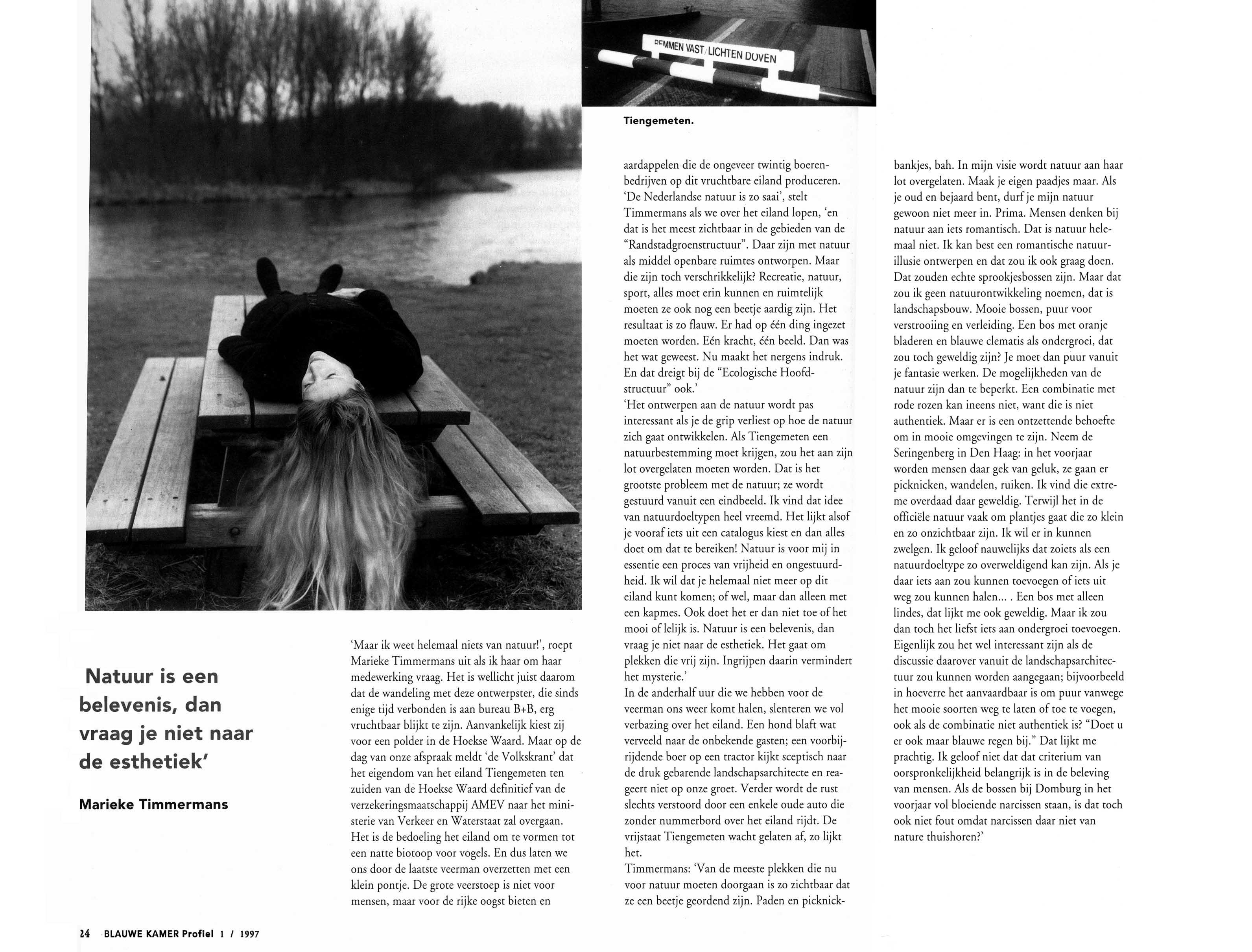 Landscape architects for sale - Blauwe kamer kind ...